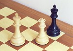 Free Stock Photo: Chess pieces in checkmate