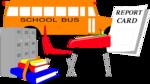 Free Stock Photo: Illustration of public school items
