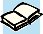 Free Stock Photo: Illustration of a blank white book