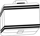 Free Stock Photo: Illustration of a lunch box