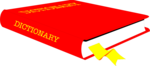 Free Stock Photo: Illustration of a dictionary