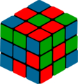 Free Stock Photo: Illustration of a puzzle cube
