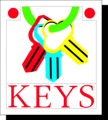 Free Stock Photo: Illustration of keys on a ring with text
