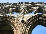Free Stock Photo: Close-up of arches at Whitby Abbey