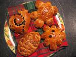 Free Stock Photo: Animal shaped pastries