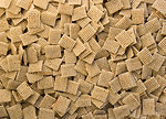 Free Stock Photo: Close-up of square shaped breakfast cereal