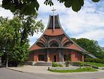 Free Stock Photo: A modern church