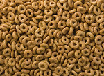 Free Stock Photo: Close-up of round breakfast cereal