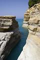 Free Stock Photo: Limestone rocks by the ocean