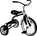 Free Stock Photo: Illustration of a tricycle