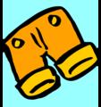 Free Stock Photo: Illustration of a pair of orange shorts