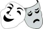 Free Stock Photo: Illustration of drama masks