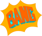 Free Stock Photo: Illustration of bang text