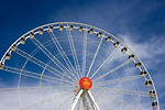 Free Stock Photo: A large ferris wheel in an amusement park