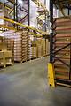 Free Stock Photo: Racks inside a warehouse