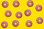 Free Stock Photo: Illustration of donuts