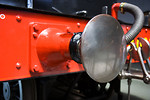 Free Stock Photo: Close-up of a steam train buffer