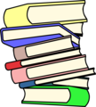 Free Stock Photo: Illustration of a stack of books