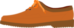 Free Stock Photo: Illustration of a brown shoe