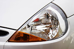 Free Stock Photo: Close-up of a car headlight