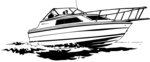 Free Stock Photo: Illustration of a speedboat