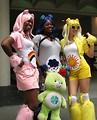 Free Stock Photo: Beautiful girls in Care Bear costumes at Dragoncon 2009 in Atlanta, Georgia