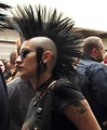 Free Stock Photo: A woman with a mohawk at Dragoncon 2009 in Atlanta, Georgia