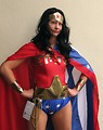 Free Stock Photo: A beautiful girl in a Wonder Woman costume at Dragoncon 2009 in Atlanta, Georgia