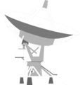 Free Stock Photo: Illustration of a satellite dish