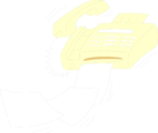 Free Stock Photo: Illustration of a fax machine spitting out paper