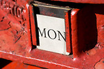 Free Stock Photo: Close-up of a British postbox