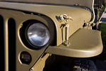 Free Stock Photo: Close-up of a parked military jeep