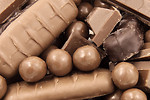 Free Stock Photo: Close-up of chocolate candy