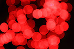 Free Stock Photo: Blurred red lights