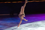 Free Stock Photo: Figure skater Sasha Cohen in an endless spiral