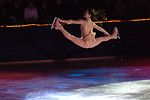 Free Stock Photo: Figure skater Sasha Cohen in a very high jump