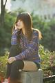 Free Stock Photo: A beautiful Chinese girl posing outdoors