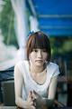 Free Stock Photo: A beautiful Chinese girl posing