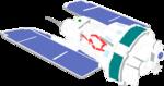 Free Stock Photo: Illustration of a satellite