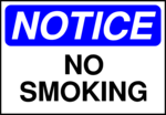Free Stock Photo: Illustration of a no smoking sign