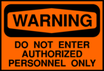 Free Stock Photo: Illustration of a do not enter warning sign