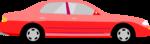 Free Stock Photo: Illustration of a red sedan