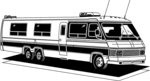 Free Stock Photo: Illustration of a long RV