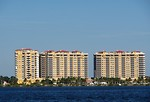Free Stock Photo: Condos along the ocean